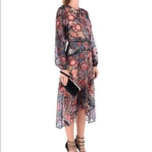 Gorgeous Retro floral style sheer dress Foxiedot